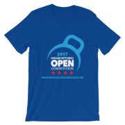 Chicago Kettlebell Open 2017 – Unisex T-Shirt